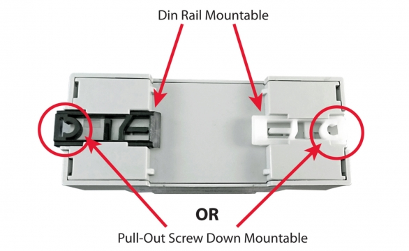 Din Rail and Screw Mountable SPD