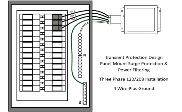 TK TTLP Three Phase Install Drawing