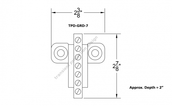 TPD GRD Dimensions