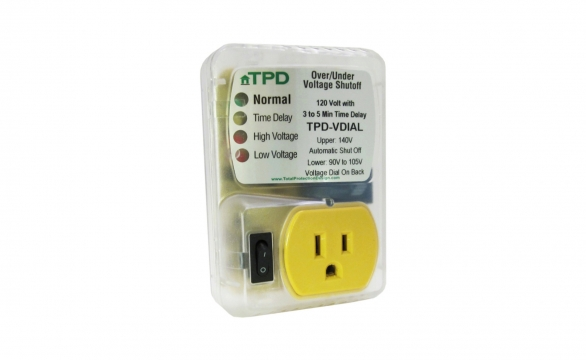 Over Under Voltage Shut Off Protection