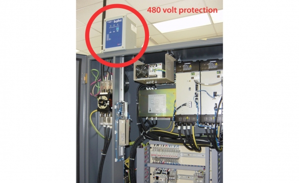 TPS SurgeTrack 480 Volt Protection