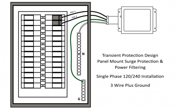 TPX Single Phase Install Drawing